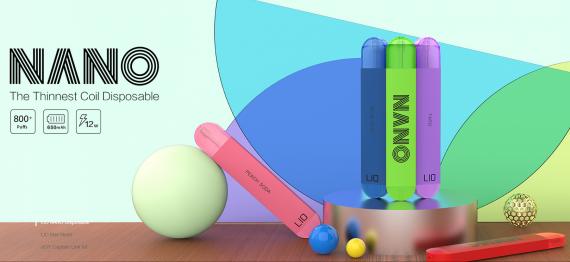 LIO Nano Disposable Vape kit - утонченный одноразовый набор...