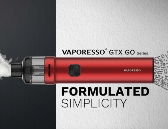 Vaporesso GTX Go 40 POD kit - первый трубопод в линейке...