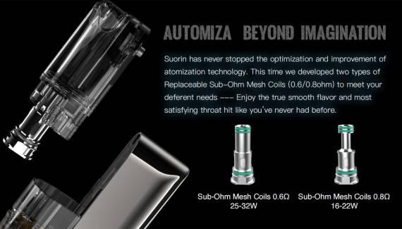 Suorin Air Mod POD kit - душа наизнанку...