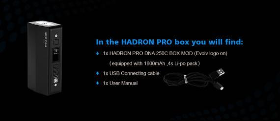 Steam Crave Hadron Pro DNA250C - гигант на липольке...