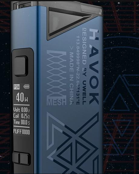 Uwell Havok V1 POD mod kit - старый формат, новые возможности...