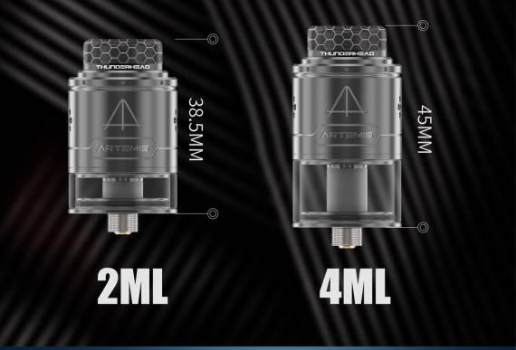 Thunderhead Creations Artemis RDTA V1.5 - добиться компактности...