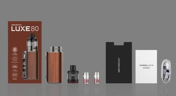 Vaporesso Luxe 80 POD Mod kit - компактный автономщик...