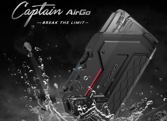 IJOY Captain AirGo POD kit - смелый дизайн, однако скромная начинка...