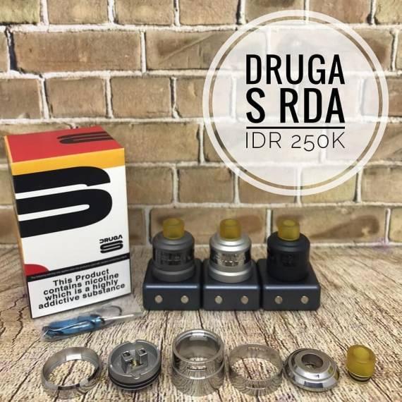 Augvape Druga S RDA - просто-напросто одна спираль...