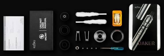 Kizoku Oaker kit - стильный сигаретный набор...