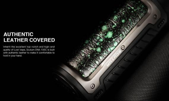Lost Vape Scutum DNA 100C mod - новому флагману новый чипсет...