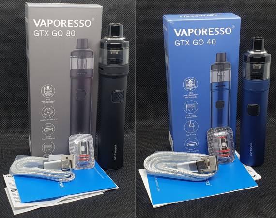 Пощупаем??? - Vaporesso GTX Go 80 / 40 POD kit...