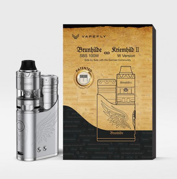 Vapefly Brunhilde SBS 100W Kit - стик, вооруженный необслугой...