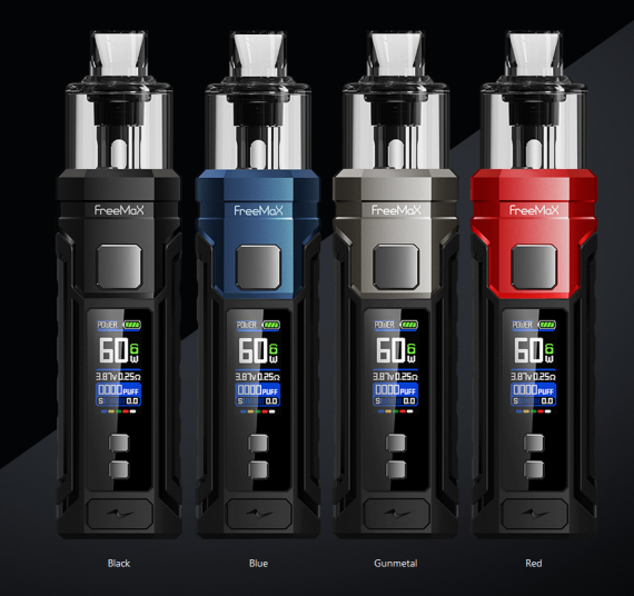 Freemax Marvos 60W kit - дебютный под-мод бренда...