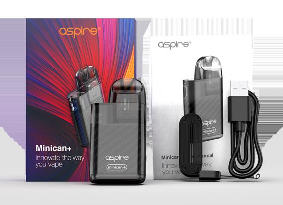 Aspire minican+ POD kit - мелкий калибр...