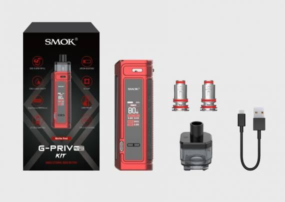 SMOK G-PRIV PRO POD kit - вторая обновка на внешней АКБ...