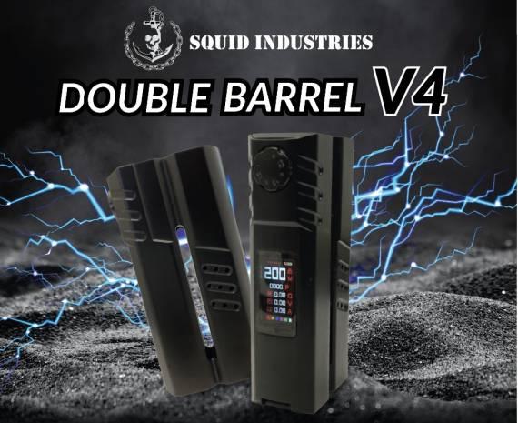 Squid Industries Double Barrel V4 mod - угловатая двустволка...