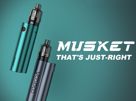 VOOPOO Musket kit - упрощенная двустволка...