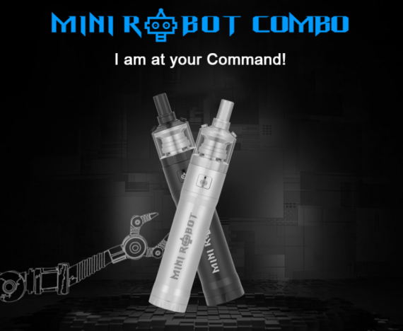 Steam Crave Mini Robot MTL kit - сигаретный киборг...
