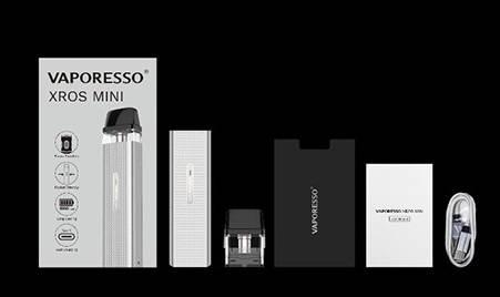 Vaporesso XROS Mini POD kit - когда уменьшение пошло только на пользу...