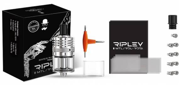 Ambition Mods / The Vaping Gentlemen Club Ripley MTL/RDL RDTA - универсал на основе имеющихся наработок...