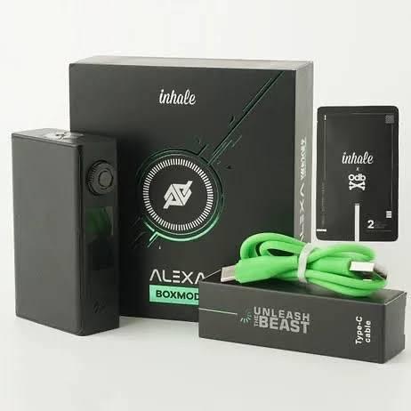 Inhale ALEXA box mod - всего одна кнопка...