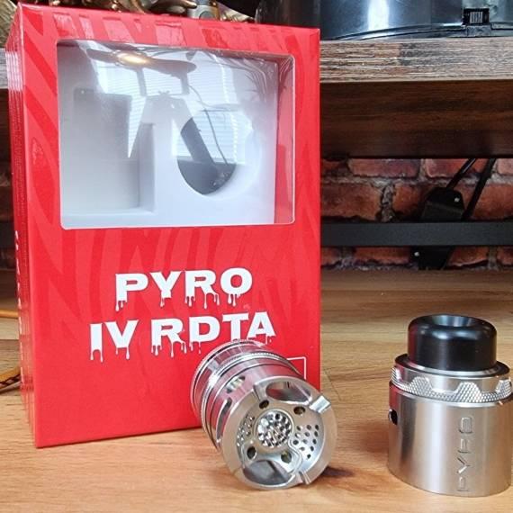 Vandy Vape PYRO V4 RDTA - настоящий дуршлаг...