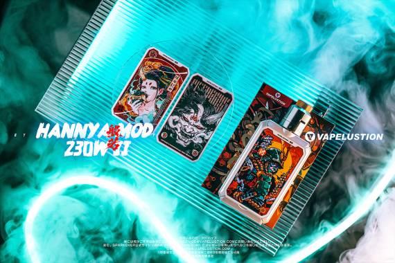 Vapelustion Hannya II box mod 230W - апгрейд знакомого комикс-бокса..