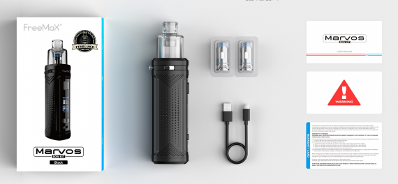 Freemax Marvos 80W kit - металлический однофамилец...