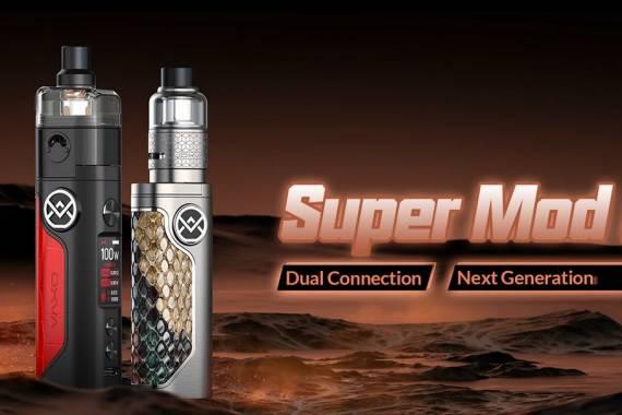 Oxva Vativ super mod kit - первый гибридный коннектор в pod-системах...