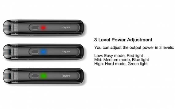 Aspire Flexus Q kit - мгновенная зарядка и пара фишек в нагрузку...