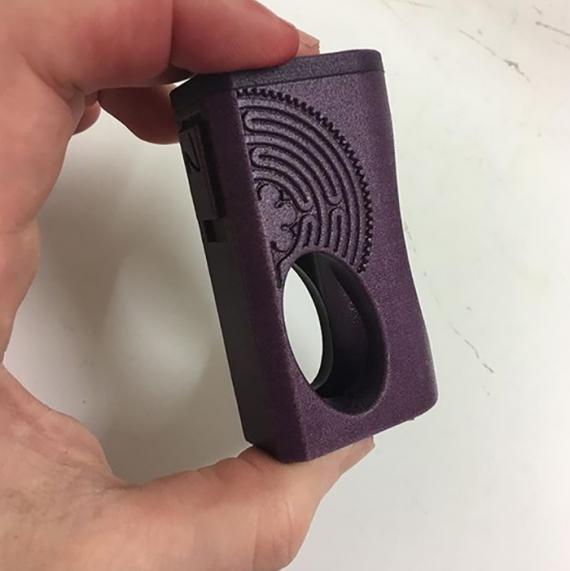 Nanohm Squonk Box Mod - один из представителей флагманов компании SnV Mods