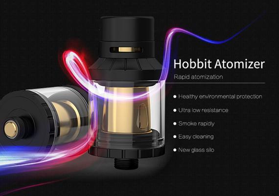 Простенький атомайзер на съемных испарителях под названием Hobbit
