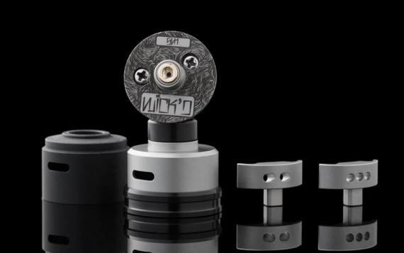 Wick'd RDA 22mm - разные стойки - разные обдувы, вариативность настройки от Wick'd Vapes