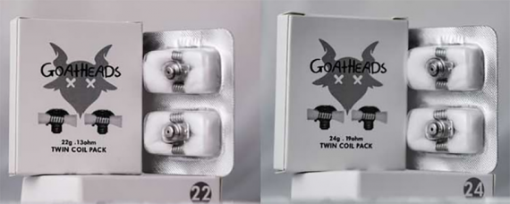 Goat RDA - вот вам еще один пример нестандартного решения, дрипка на одноразовых спиралях от GrimmGreen x OhmboyOC