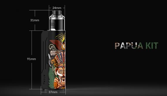 И еще кое-что новенькое. PAPUA Kit от компаний Hippovape & Railyway Vapers