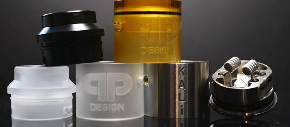 Kali V2 RDA/RSA Master Kit от канадской компании QP Design. Огромный выбор кэпов и еще немножко вкусностей