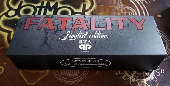 Новый Fatality RTA (Limited Edition), или история о том, как выдать старое за новое. Эксперименты от Qp Design
