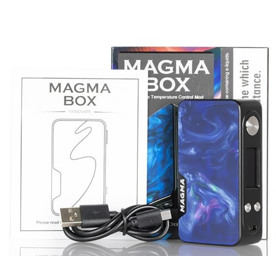 Тот самый мод Magma от компании Famovape. Final full edition