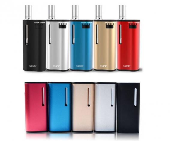 Mjtech 5S - электронная сигарета 2 в 1, с примесью вапорайзера