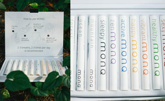 MONQ - disposable electronic cigarettes for quick stress relief