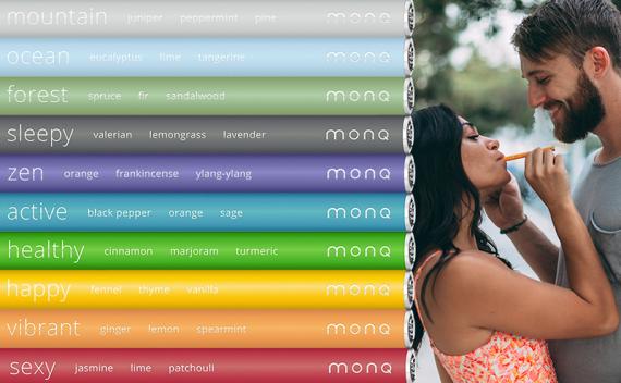 MONQ - одноразовые электронные сигареты для быстрого снятия стресса