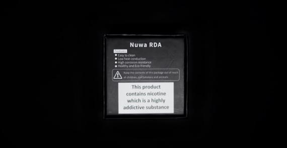 Nuwa 24mm BF RDA - немного переработанный и адаптированный атмоайзер под сквонкеры от YSTAR