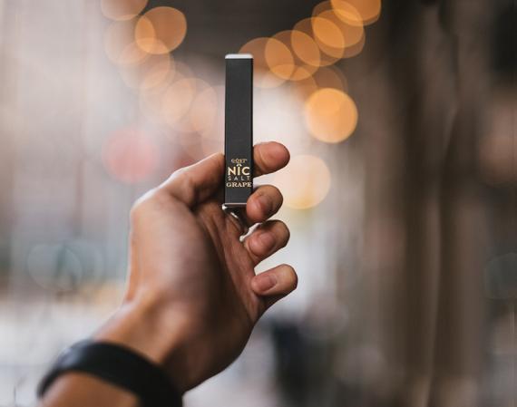 Неужели одноразовые электронные сигареты становятся все больше интересней? Kash от производителя Gost Disposable