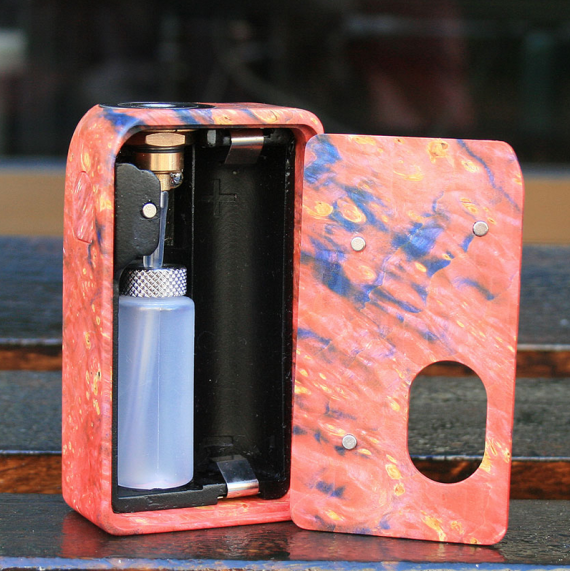 Custom Mechanical BF Mod - and another squonker from Ent mods