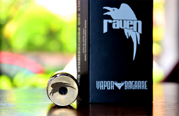 Raven Mod - classic and button without spring and without magnet from the Italian company Vapor Bagarre
