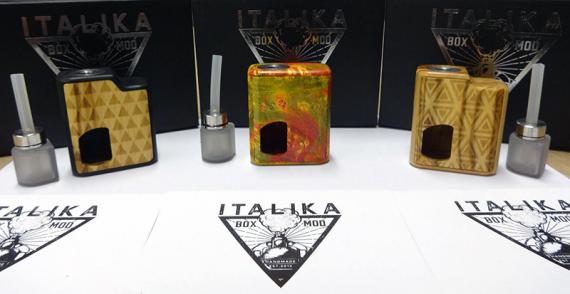 Adria BF - мини сквонкер с бутылкой вместительностью меньше чем у стандартных баков. Хэнд мэйд от Italika Box Mod