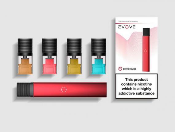 EVOVE Pod System - JUUL на минималках, от компании Evovevape