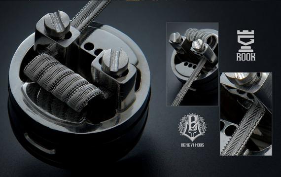 ROOK RDA от компании Benevi Mods. Все просто, удобно и два обдува в придачу