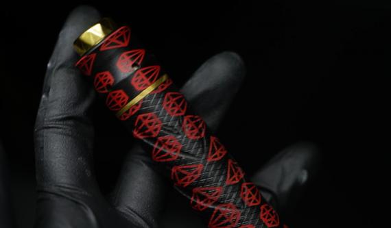 Katana механический мод от компании RNV Designs. Качественная и красивая механика, то что вы ищите