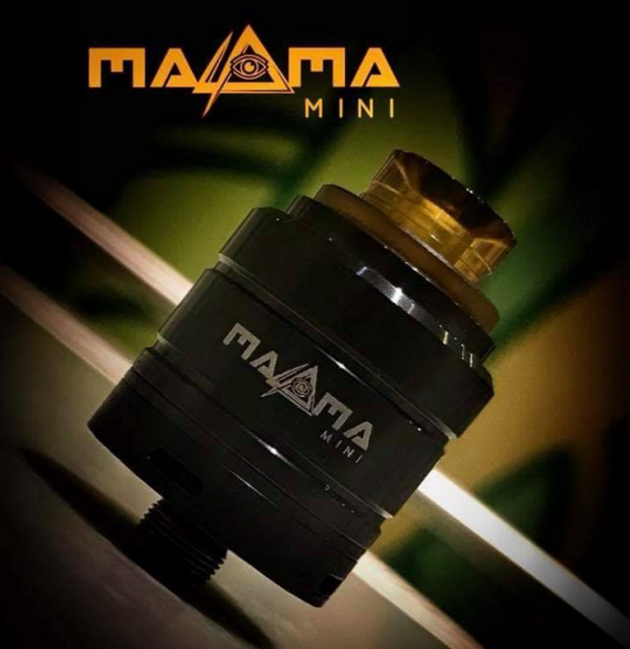 Magma Mini Squonk RDA от компании Paradigm Mods. Velocity стойки, двойной обдув, отличное предложение