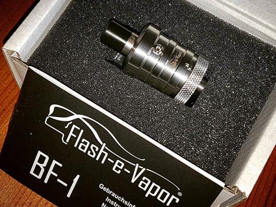 BF-1 Squonker RDA от компании Flash-E-Vapor. Только если вы используете онли сквонкеры