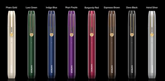 VPEN kit от компании Vapmor. По размерам как ручка, но уже может генерировать пар