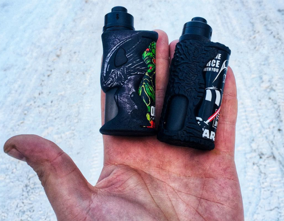 Mini Naked Squonker style from domestic manufacturer.  Meet Imago Squnker
